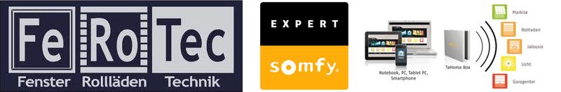 FeRoTec Reinbek – Fenster Türen Rollläden Markisen Dachfenster Haustüren Somfy Hausautomatisierung Somfy Expert