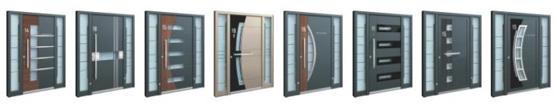 Inotherm - Haustür Modelle Auswahl